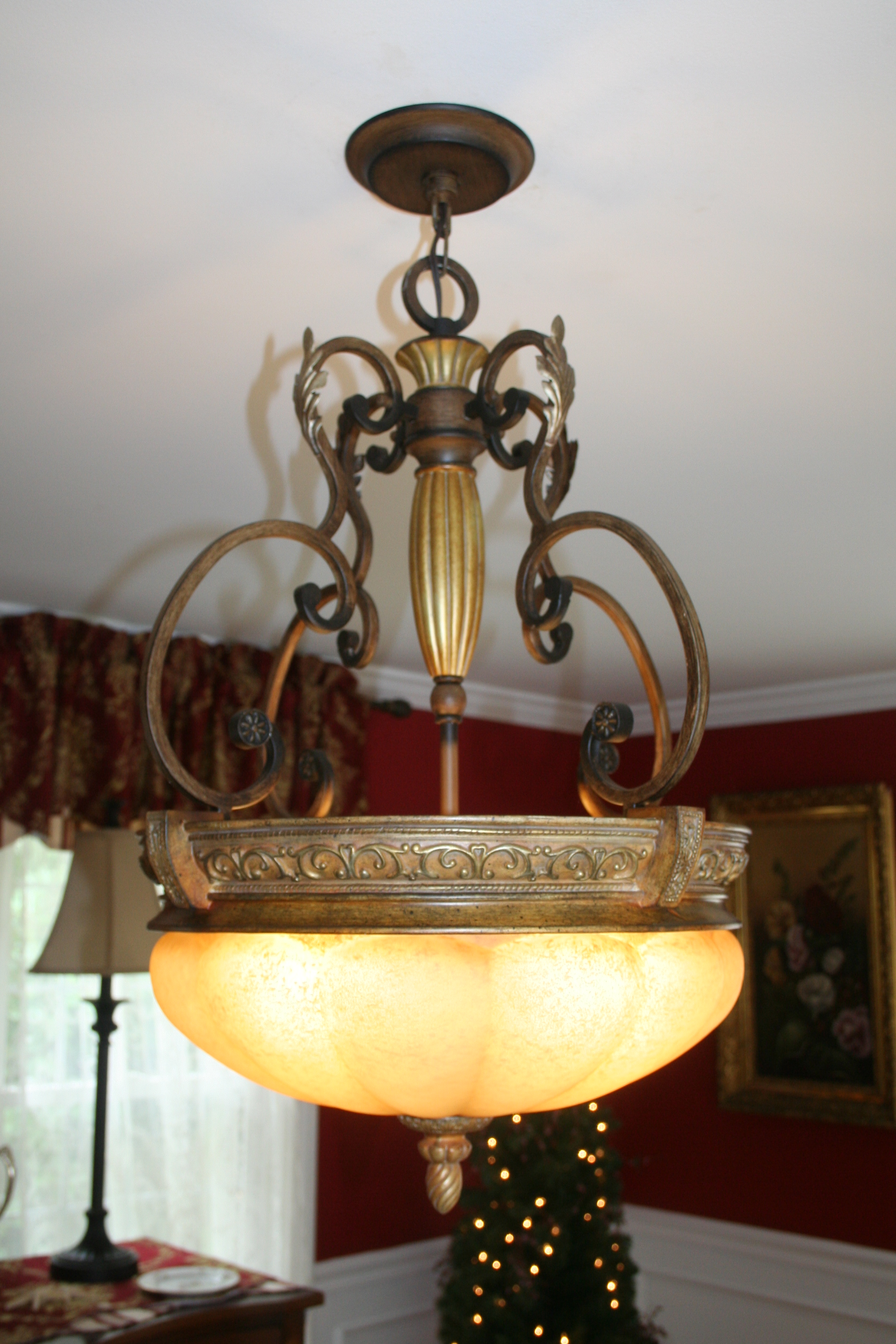 Dining Room Lighting, Turtle Cove, Cape Cod