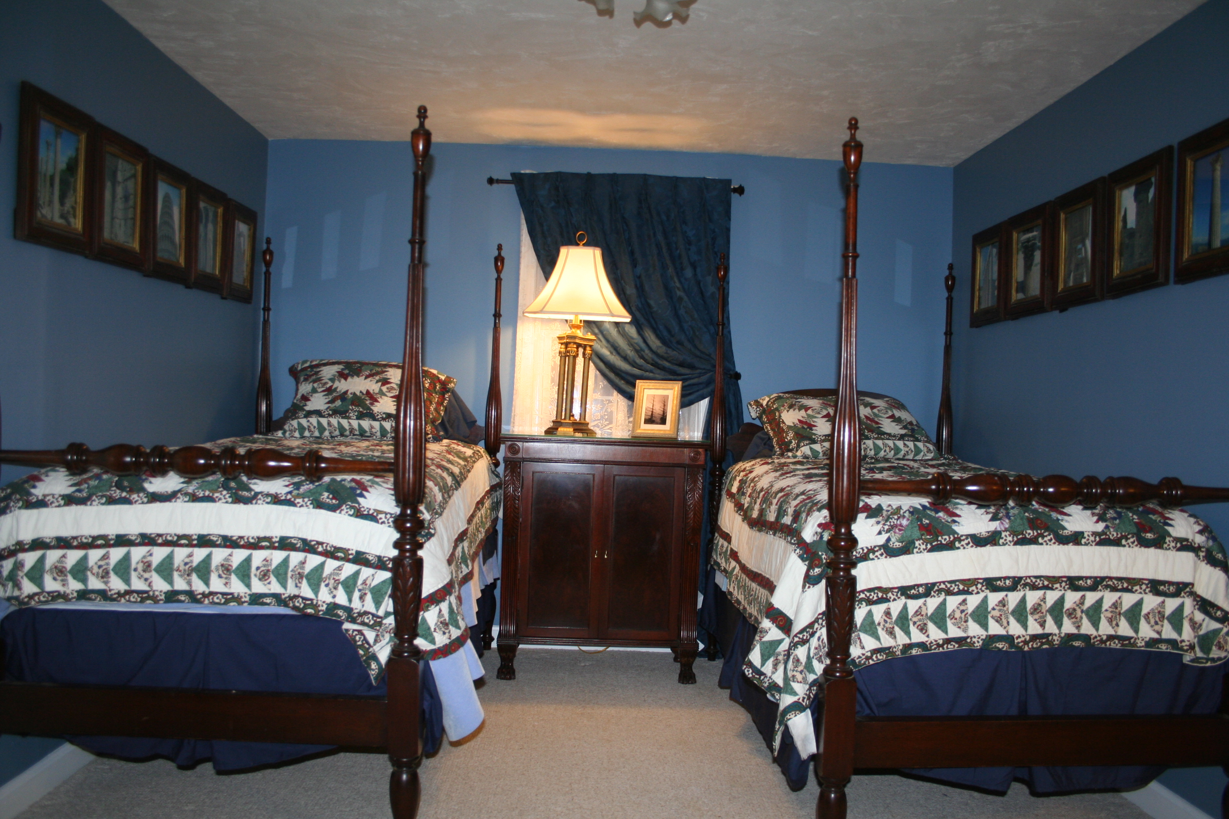Bedroom 3 with 2 Twin Beds, 2nd floor, Turtle Cove, Cape Cod